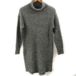 American Eagle Womens Gray Sweater Dress, Large